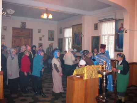 служба на Введение 03.12.2009