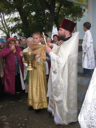 Престольный праздник 21.11.09г