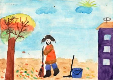 Осень.Антоненко Саша. 7 лет