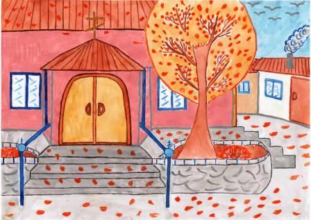 Осень.Полянская Женя. 8 лет
