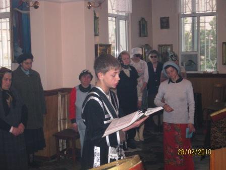 02.28.2010г. Дети в храме
