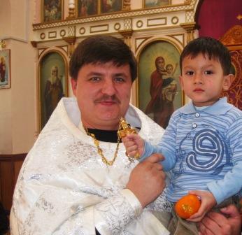 02.28.2010г Дети в храме. Паша