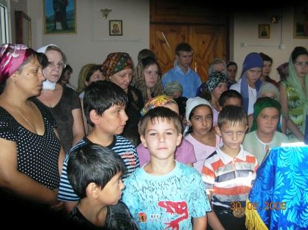 Молебен для учащихся 30.08.2008г.