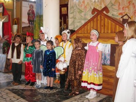 """Воскресная школ храма """"Рождества Богородицы"""""""